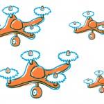 Drony w służbie zła