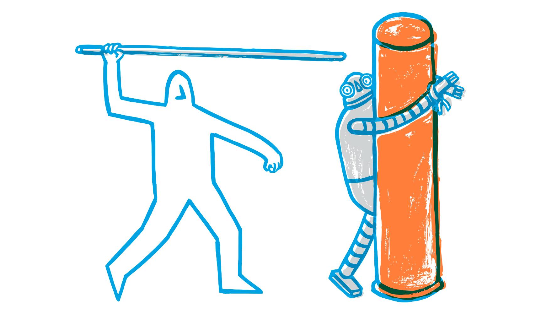 """""""Życie"""" robota warte więcej niż życie człowieka?"""